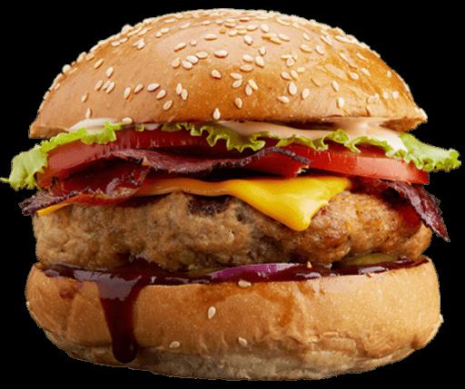 Бургер Чiкен з пастрамi